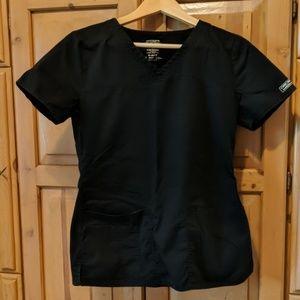 Cherokee Black Scrub Top